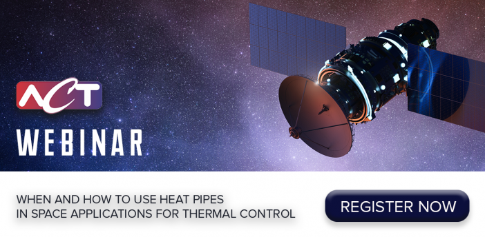 ACT: When and How to use Heat Pipes in Space Applications for Thermal Control
