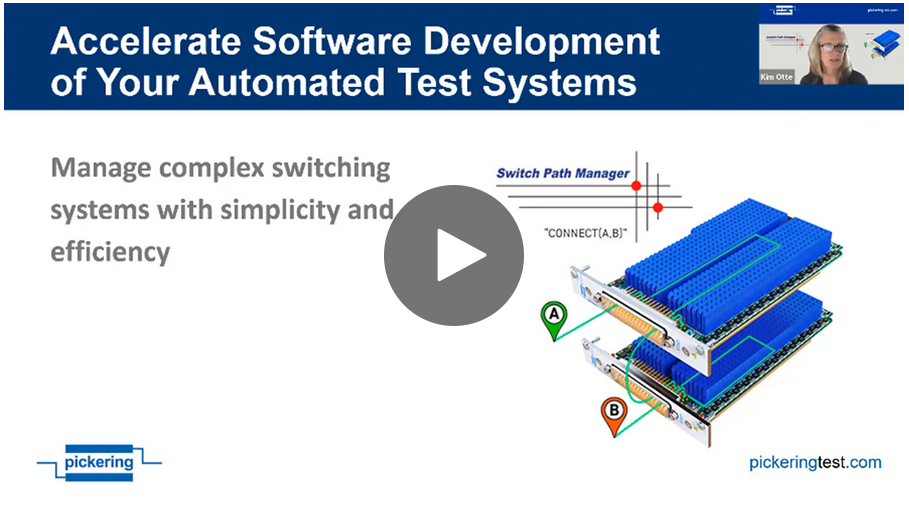 Accelerate Software Development of Your Automated Test Systems