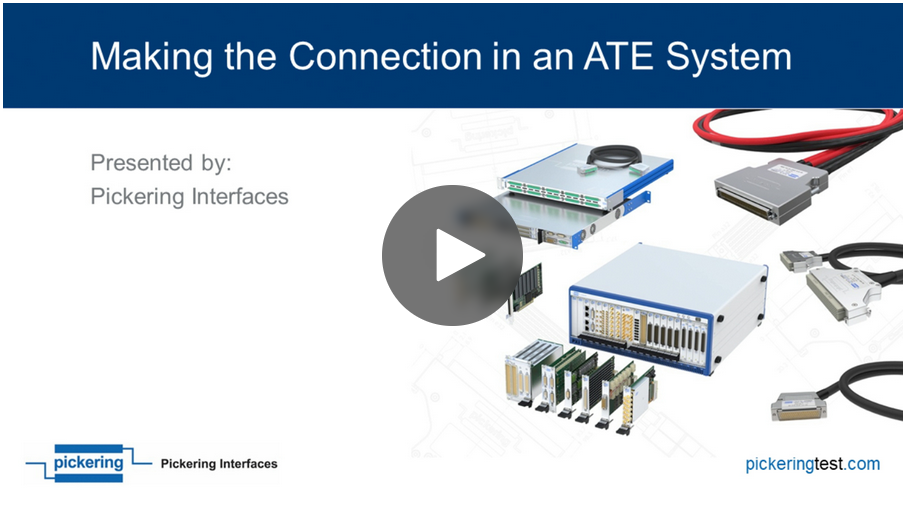Making the Connection in an ATE System