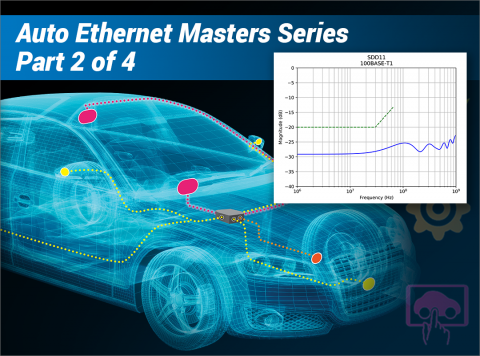How to Become an Expert in Automotive Ethernet Testing - Part 2: Mastering MDI Return Loss and Mode Conversion Loss Test