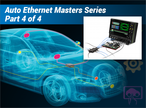 How to Become an Expert in Automotive Ethernet Testing - Part 3: Mastering Transmitter Droop, Distortion, Jitter and Spectral Density Test