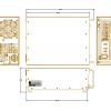AR Modular - KAA2030 - 200 Watts, 500 kHz - 40 MHz, RF Amplifier