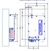 AR Modular - KMW2040 - 100 Watts CW, 100 - 500 MHz, Amplifier Module