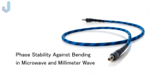 Phase Stability against Bending in Microwave and Millimeter wave