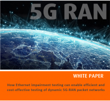 Plotting the performance landscape for 5G RAN Packet Networks