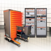 Amplifier Research - SSISOV100V10K18G - 100 V/m field strength for full vehicle testing from 10 kHz to 18 GHz Predefined System