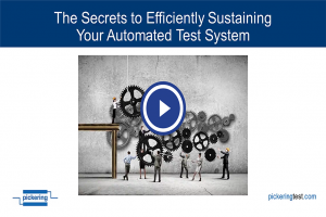 Secrets to Efficiently Sustaining Your Automated Test System
