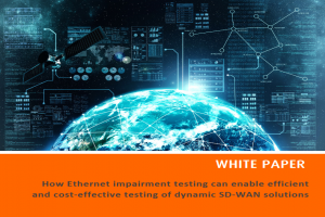 Plotting the performance landscape for SD-WAN
