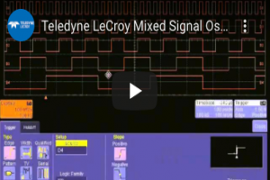 LeCroy Mixed Signal Oscilloscope - Measurement