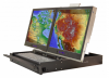 "Crystal Rugged - RD2217 Rugged Rackmount Dual 17"" Display"
